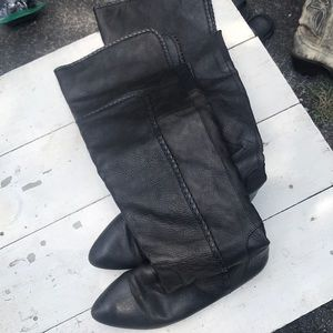 Vintage over the Knee High Leather Lucky Brand Bo